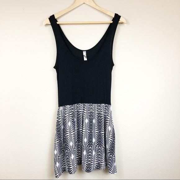 2eab805eac2a2 Lush Dresses   5 For 25 Mini Dress Aztec Print Blackwhite   Poshmark